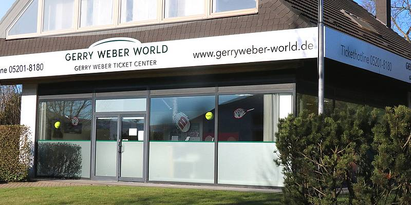 GERRY WEBER TICKET CENTER